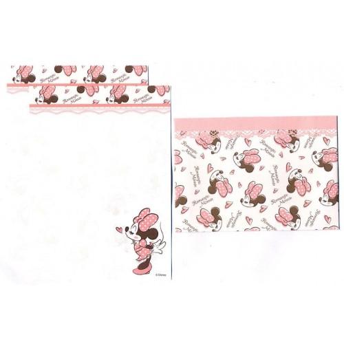 Conjunto de Mini-Papel de Carta Romantic Minnie II Disney