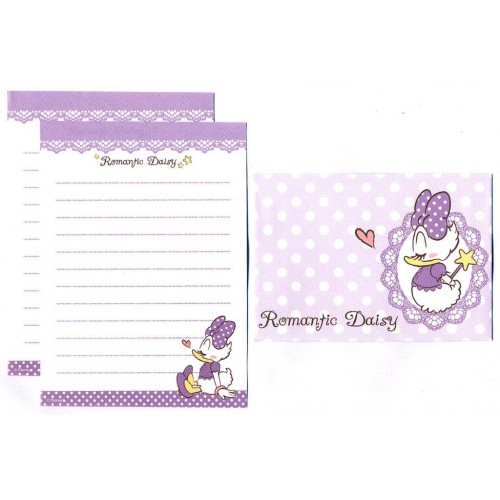 Conjunto de Mini-Papel de Carta Romantic Daisy I Disney