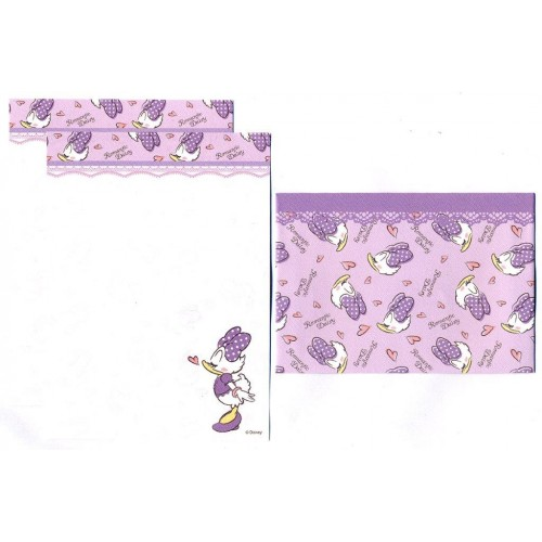 Conjunto de Mini-Papel de Carta Romantic Daisy II Disney