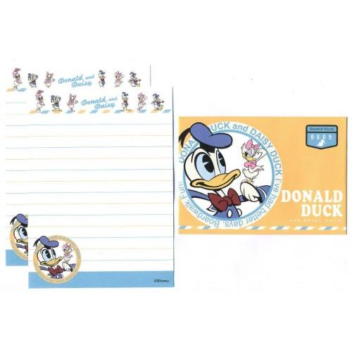 Conjunto de Mini-Papel de Carta Donald & Daisy Duck 0609 Disney