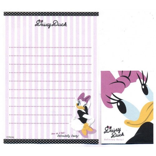 Kit 2 Conjuntos de Mini-Papel de Carta Definitely Daisy CLL Disney