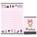 Kit 2 Conjuntos de Mini-Papel de Carta Definitely Daisy CRS Disney