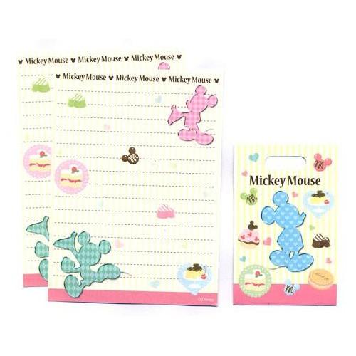 Conjunto de Mini-Papel de Carta Mickey Mouse Disney