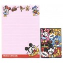Kit 2 Conjuntos de Mini-Papel de Carta Mickey & Minnie N2 Disney