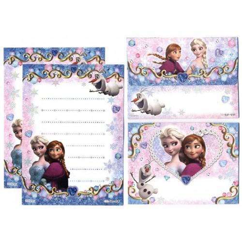Conjunto de Papel de Carta Pequeno Frozen CAZ Disney
