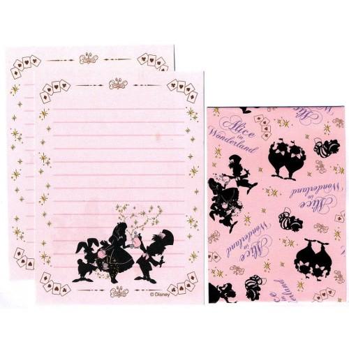 Conjunto de Mini Papel de Carta Alice in Wonderland - Curious II