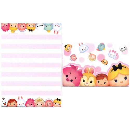 Conjunto de Mini-Papel de Carta Alice Disney TSUM TSUM