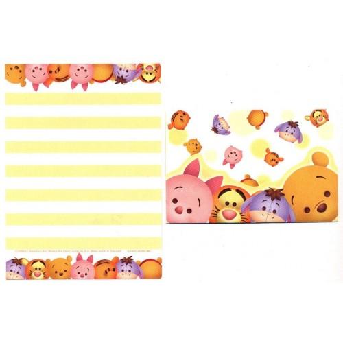 Conjunto de Mini-Papel de Carta POOH Disney TSUM TSUM
