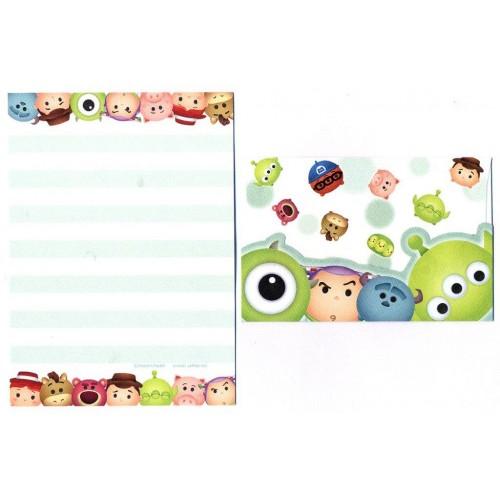 Conjunto de Mini-Papel de Carta Toy Story Pixar Disney TSUM TSUM