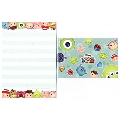 Conjunto de Mini-Papel de Carta Toy Story II Pixar Disney TSUM TSUM