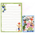 Kit 2 Conjuntos de Mini-Papel de Carta Toy Story ALIEN Pixar Disney