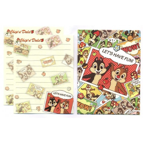 Conjunto de Mini Papel de Carta Disney Winnie the Pooh DUPLA II