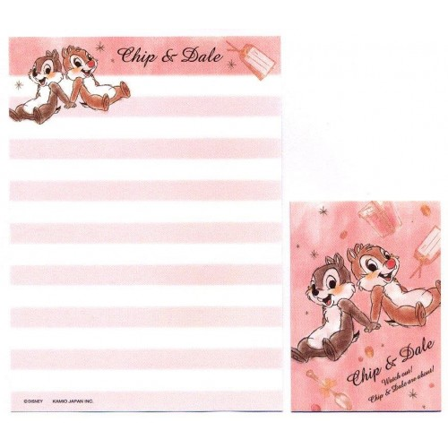 Conjunto de Mini Papel de Carta Disney Chip & Dale CRS