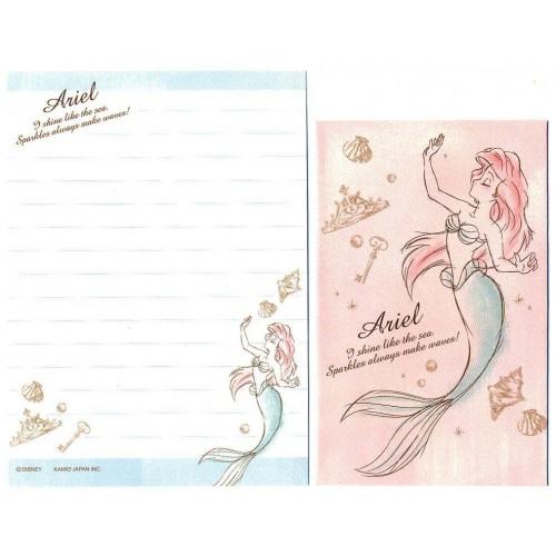 Conjunto de Mini Papel de Carta Disney Ariel CRS