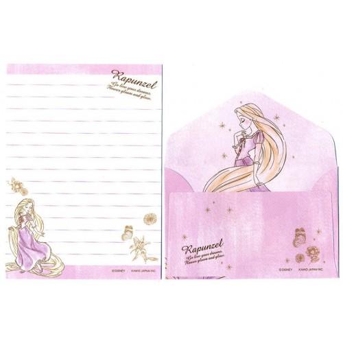 Conjunto de Mini Papel de Carta Disney RAPUNZEL CLL