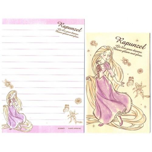 Conjunto de Mini Papel de Carta Disney RAPUNZEL CAM