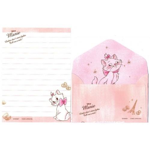Kit 2 Conjuntos de Mini-Papel de Carta Disney Marie
