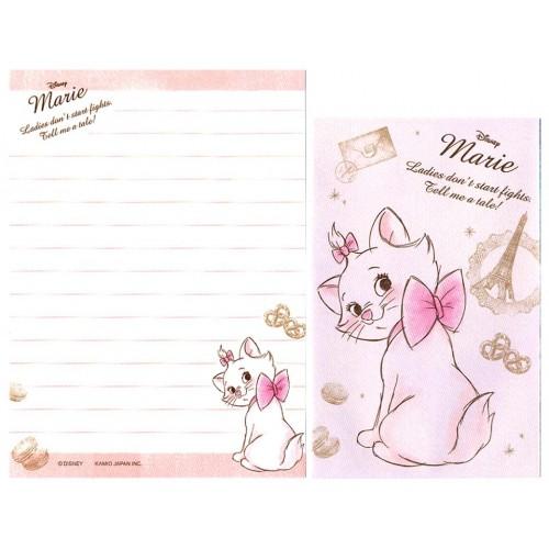 Conjunto de Mini Papel de Carta Disney Marie CLL