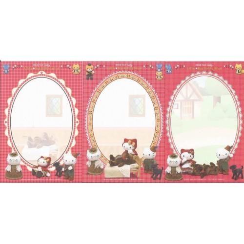 Ano 2004. Coleção de NOTAS DREAM TALE Kitty Little Red Riding Hood - Sanrio