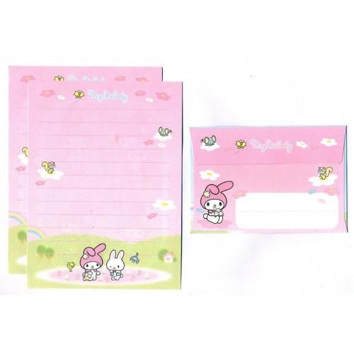 Ano 2007. Conjunto de Mini Papel de Carta My Melody Sanrio