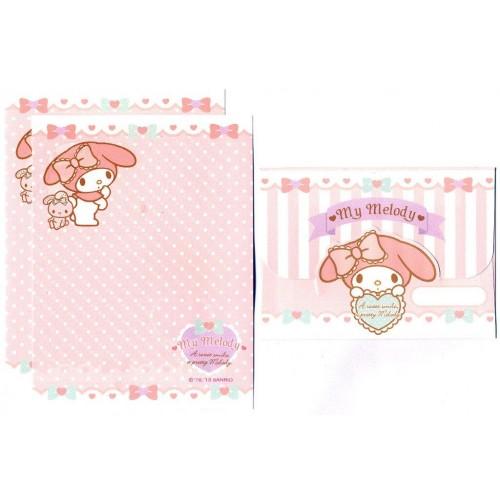 Ano 2013. Conjunto de MINI-Papel de Carta My Melody Sanrio