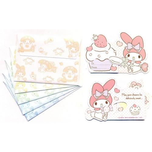 Ano 2014. Kit Mini-Cartão de Mensagem My Melody Sanrio