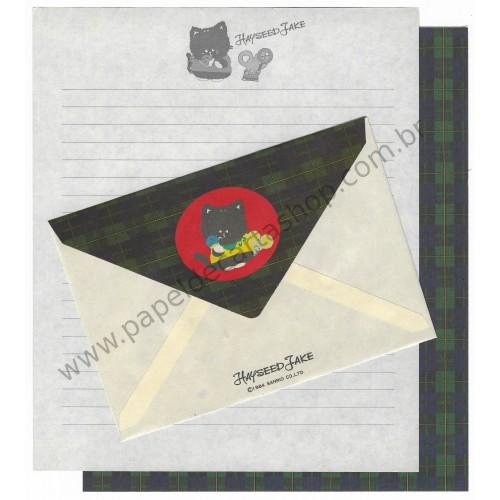 Ano 1984. Conjunto de Papel de Carta Hayseed Jake Vintage Sanrio Japão