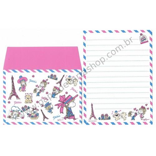 Conjunto de Papel de Carta com envelope ADO MIZUMORI 0040