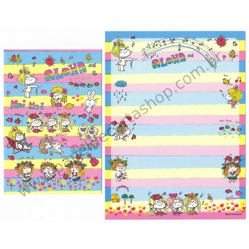 Conjunto de Papel de Carta com envelope ADO MIZUMORI 0043