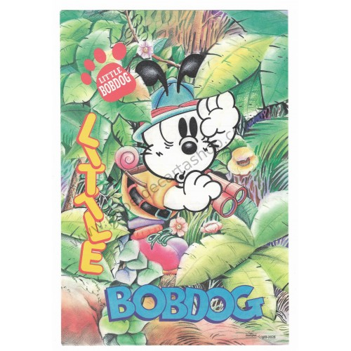 Papel de Carta Antigo (Vintage) Little Bobdog Floresta Wealthyluck Sunward