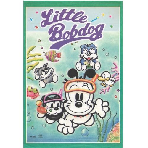 Conjunto de Papel de Carta Antigo (Vintage) Little Bobdog Diving Wealthyluck Sunward