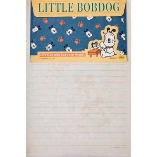 Conjunto de Papel de Carta Antigo (Vintage) Little Bobdog Diving Wealthyluck Sunward