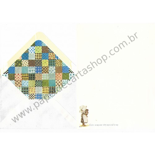Conjunto de Papel de Carta Holly Hobbie M79