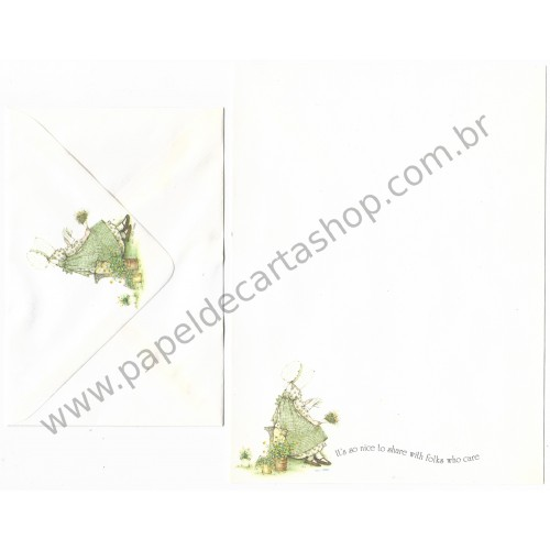 Conjunto de Papel de Carta Holly Hobbie M81