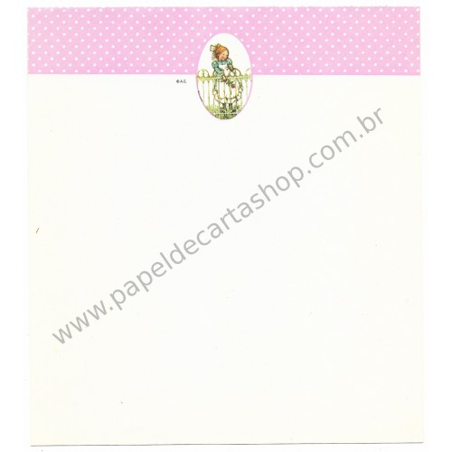 Papel de Carta AVULSO Holly Hobbie M83