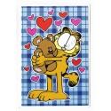 Conjunto de Papel de Carta & NOTECARD Garfield Love My Teddy Bear - Paws
