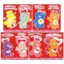 Kit 8 Mini-Cartões de Mensagem Valentines Antigo Importado Ursinhos Carinhosos3