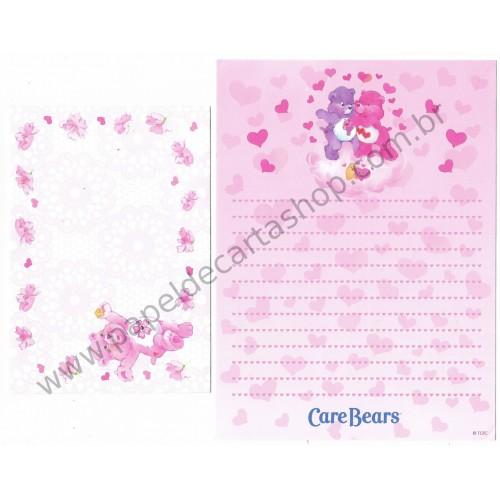 Conjunto de Papel de Carta Importado Care Bears TCFC3