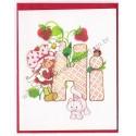 Cartão ANTIGO com Envelope Moranguinho Hi! CRS - AG