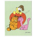 Ano 1978. Notelete Garfield CVD - Best Cards