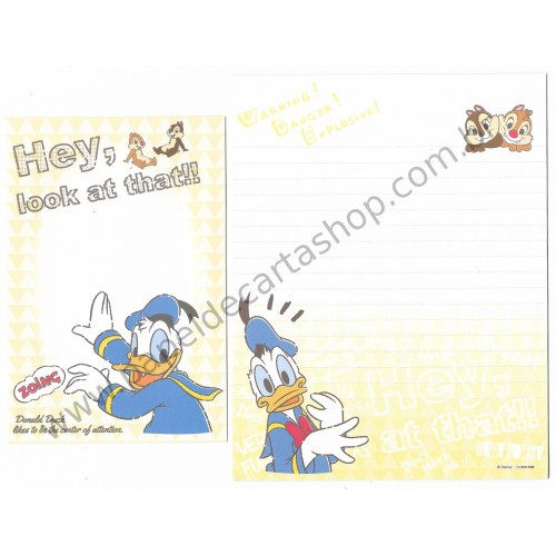 Conjunto de Papel de Carta Importado Disney Donald & Friends 1 (CLA)