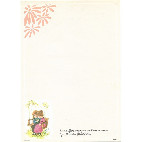 Papel de Carta July Pop A-01