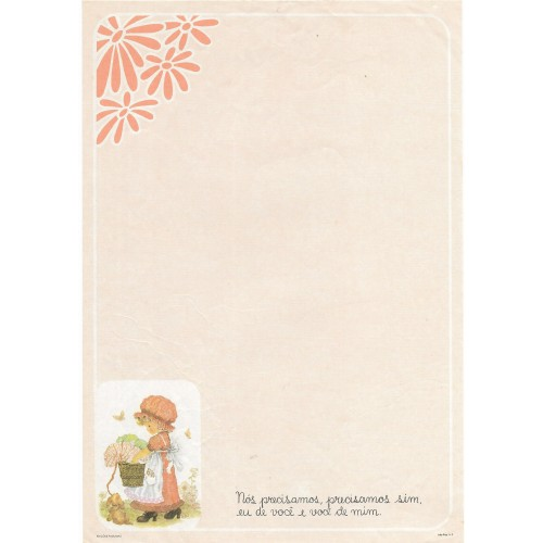 Papel de Carta July Pop A-06