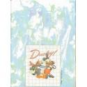 Papel de Carta Antigo Disney Margarida & Pato Donald - Best Cards
