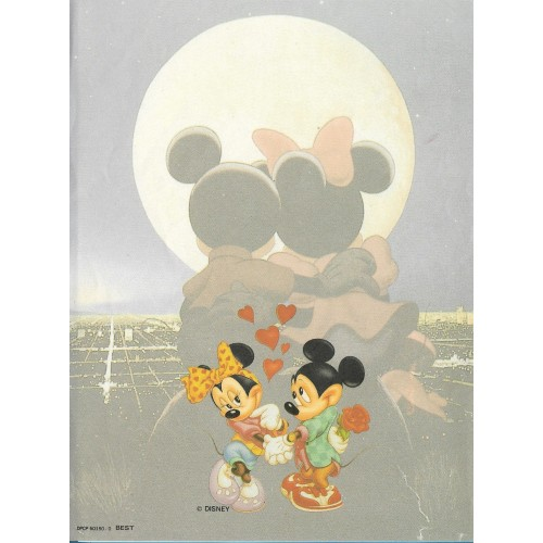 Papel de Carta Antigo Disney Mickey & Minnie Moon - Best Cards