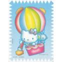 Papel de Carta Antigo Hello Kitty Balão - Best Cards