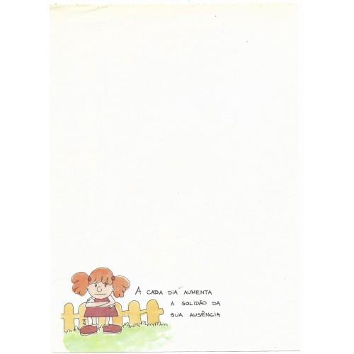 Papel de Carta Coleção BIA A03