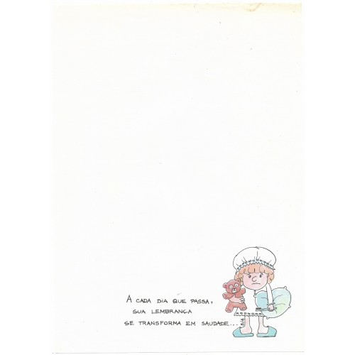 Papel de Carta Coleção BIA A04