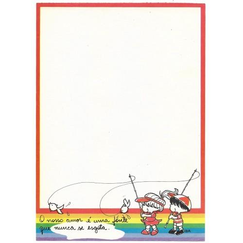 Papel de Carta Coleção BIA H05