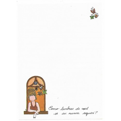 Papel de Carta Coleção BIA I04